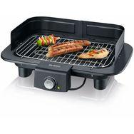 SEVERIN Gril barbecue électrique de table PG 8549 + couteau OPINEL n°6