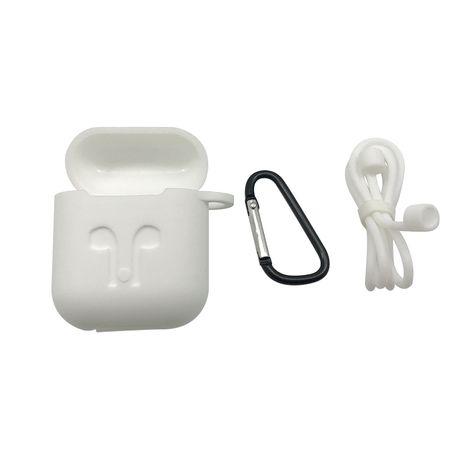 DISTRIBRANDS Coque de protection pour Apple Airpods  - Blanc