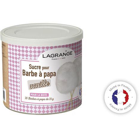 LAGRANGE Sucre pour Barbe à Papa parfum Vanille - 380006
