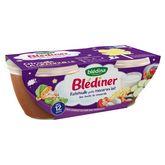 Blédina Blédîner ratatouille macaroni mozzarella 2x200ml dès 12mois