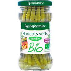 Rochefontaine haricots verts extra fins bio 110g