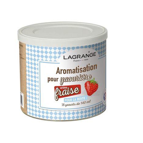 LAGRANGE Arôme pour yaourt parfum Fraise - 380320