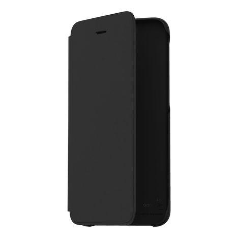 SAMSUNG Etui folio porte carte pour Galaxy J6+ - Noir