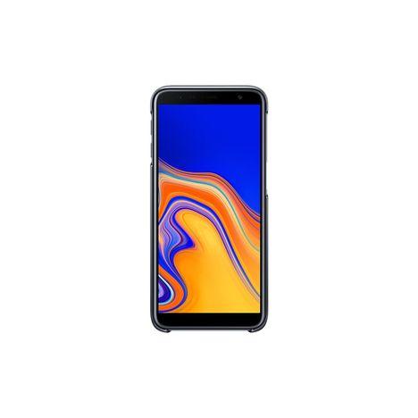 SAMSUNG Coque pour Galaxy J6+ - Noir et transparent