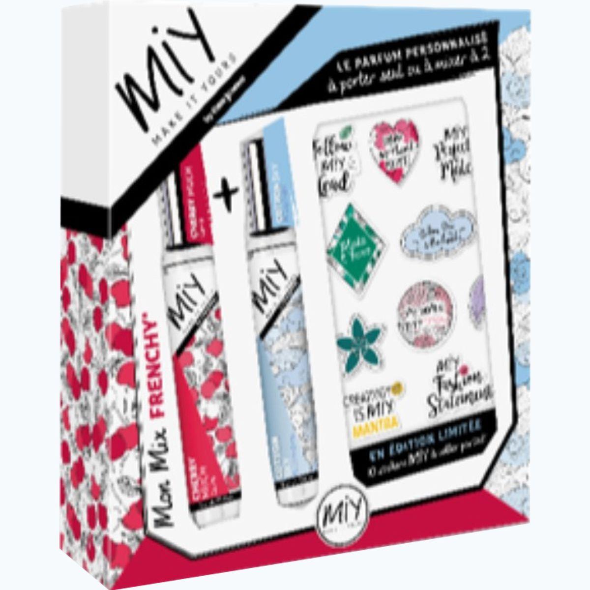 Eau Jeune Make It Yours parfums personnalisés mix frenchy x2