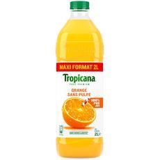 Tropicana pur premium jus d'orange sans pulpe 2l