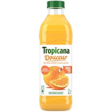 Tropicana douceur orange sans pulpe 1l