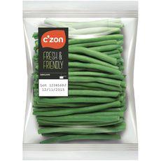 C'ZON Haricots verts éboutés 400g