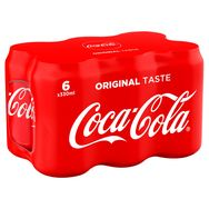 Coca-Cola classic canette 6x33cl
