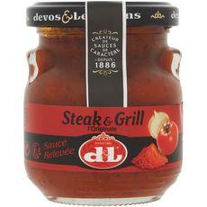 DEVOS LEMMENS Devos & Lemmens Sauce steak & grill, sauce relevée 140g 140g