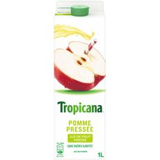 Tropicana pure premium pommes pressées 1l