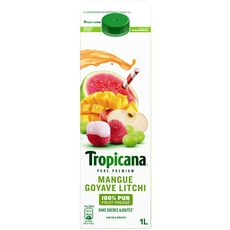 Tropicana cocktail évasion gourmande 1l