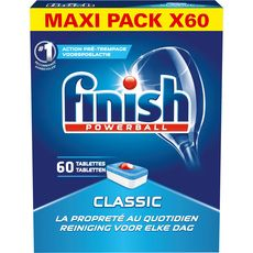 Finish Powerball tablettes lave-vaisselle classic x60