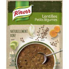 Knorr soupe naturellement bon lentille et petits légumes 69g