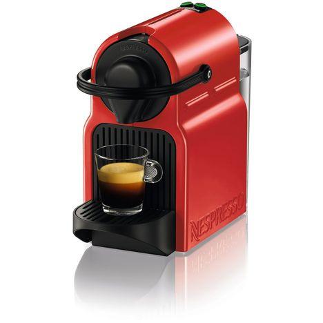 KRUPS Cafetière à dosettes Nespresso Inissia YY1531 Rouge Rubis