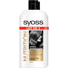 Syoss après shampooing nutrition 2x500ml