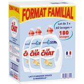 Le Chat lessive liquide sensitive 3x3l