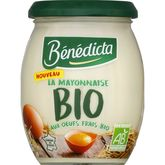 Bénédicta mayonnaise bio 260g