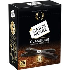 Carte Noire soluble stick x25 -45g