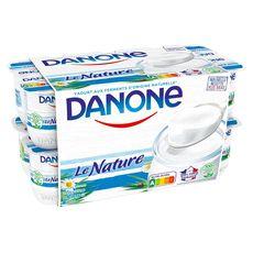 DANONE Yaourt nature 16x125g