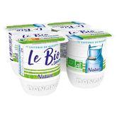 Danone bio yaourt nature 4x125g