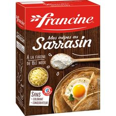 Francine préparation pour pâte à crêpes au sarrasin 440g