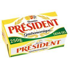 Président beurre demi-sel 250g