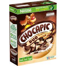 Chocapic duo chocolat et chocolat blanc 400g