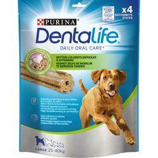 PURINA Dentalife friandises batônnets hygiène dentaire pour grand chien 4 pièces