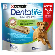 DENTALIFE Friandises hygiène dentaire pour grand chien 12 pièces