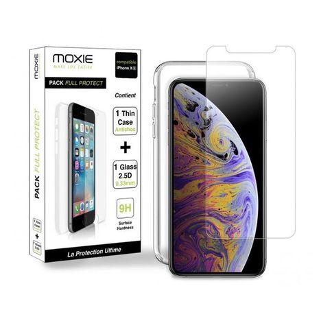 Coque Pour Iphone Xs X Transparent Moxie Pas Cher A Prix Auchan