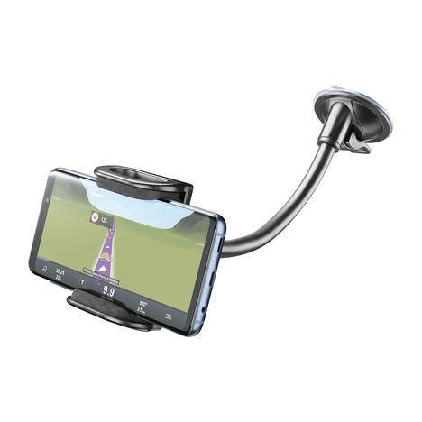 CELLULARLINE Support téléphone pour voiture - Universel - Noir - A ventouse