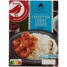 Auchan Crevette au curry rouge 300g