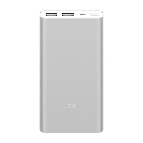 XIAOMI Batterie de secours - Mi Powerbanks 2S - Argent