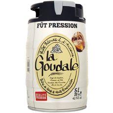 GOUDALE Bière blonde mini fût 7,2% 5l