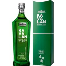 Kavalan Scotch whisky single malt Taiwan 40% 70cl