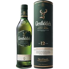 Glenfiddich whisky 12 ans 40° 70cl