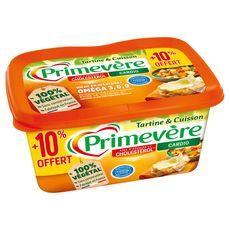 PRIMEVERE Tartine et Cuisson Margarine riche en oméga 3 500g + 10% offert