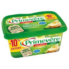PRIMEVERE Tartine Doux Margarine riche en oméga 3 550g + 10% offert