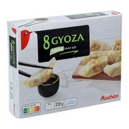 Iglo Auchan Gyoza légumes sauce soja 220g