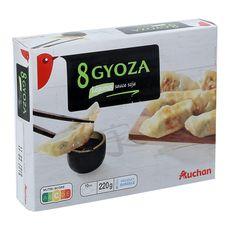 AUCHAN Auchan Gyoza légumes sauce soja 220g 8 pièces 220g