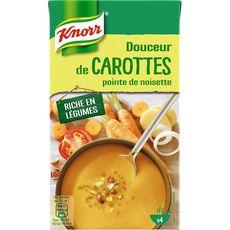 Knorr soupe liquide carottes noisette 1l