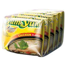 YUM YUM Nouilles asiatiques instantanées saveur poulet 5X60g