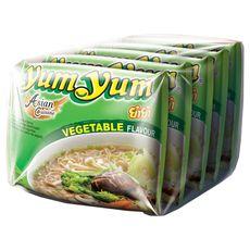 YUM YUM Yum Yum nouilles instantanées saveur légumes 5x60g