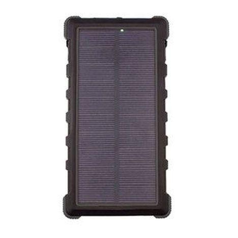 EXTREMEMAC Batterie de secours - Solar - Noir - Lithium-Polymère 4 000 mAh - 2 ports USB