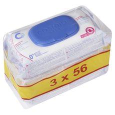 COSMIA BABY Lingettes sensitives pour bébé à la camomille 168 lingettes