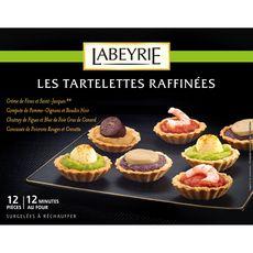 Labeyrie Tartelettes raffinées x12 165g
