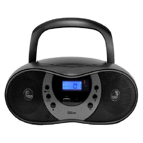 QILIVE Radio CD - Noir - Q1244