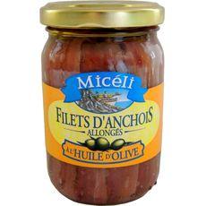 Miceli Filets d'anchois à l'huile d'olive 210g