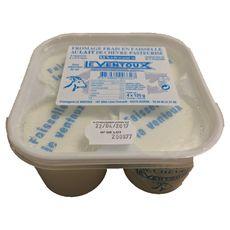 FROMAGERIE LE VENTOUX Faisselle au lait de chèvre 4x125g 4x125g